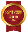 2018 Consumer Choice Award Business Excellence Winner