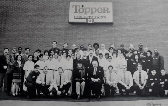 Topper Linen 1965 Team History