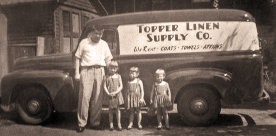 Topper Linen 1965 Delivery Truck