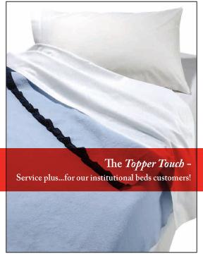 Bed Linen Brochure - Topper Linen and Uniform Company