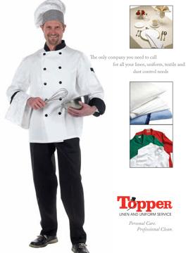 Chef Uniform Brochure - Topper Linen and Uniform Company