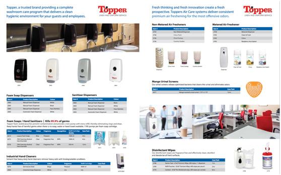 Topper Restroom Product Brochure